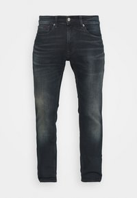 Tommy Jeans - SCANTON SLIM - Slim fit jeans - dark blue denim
