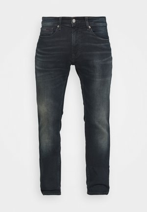 SCANTON SLIM - Džíny Slim Fit - dark blue denim