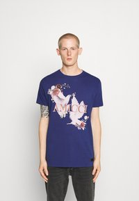 AMICCI - SIRMONE - Print T-shirt - navy - 0