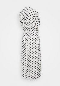 Glamorous Bloom - DRESS WITH BELT MATERNITY - Długa sukienka - white/black - 1