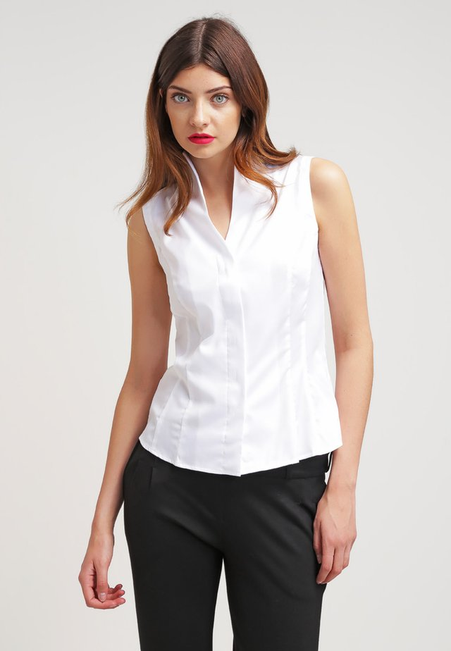 ALISA - Button-down blouse - weiß