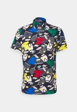BASIC  - Polo shirt - french navy/multi