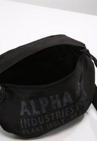 Alpha Industries - CARGO OXFORD - Bum bag - black - 4