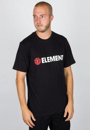 BLAZIN - T-shirt imprimé - flint black