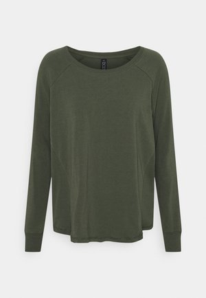 ACTIVE LONGSLEEVE  - Long sleeved top - khaki