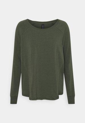 ACTIVE LONGSLEEVE  - Camiseta de manga larga - khaki