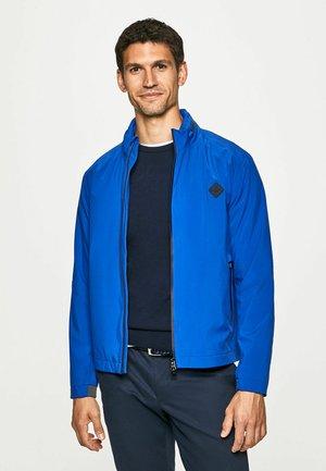 Soft shell jacket - cobalt