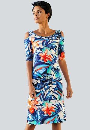 Day dress - blau-bunt