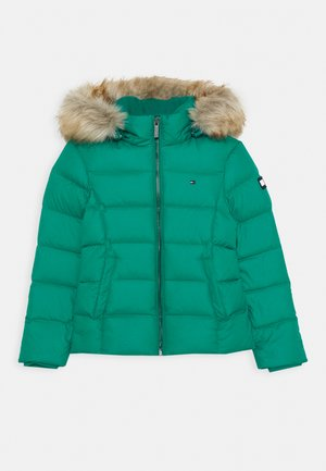ESSENTIAL BASIC JACKET - Down jacket - green