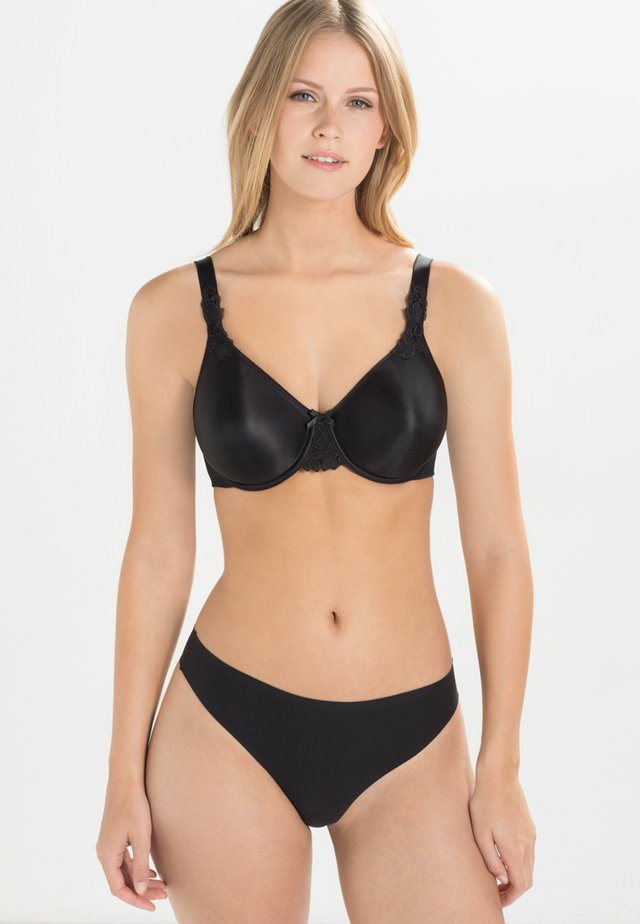 HEDONA - Underwired bra - black