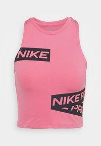 Nike Performance - CROP TROMPE - Camiseta de deporte - desert berry - 4