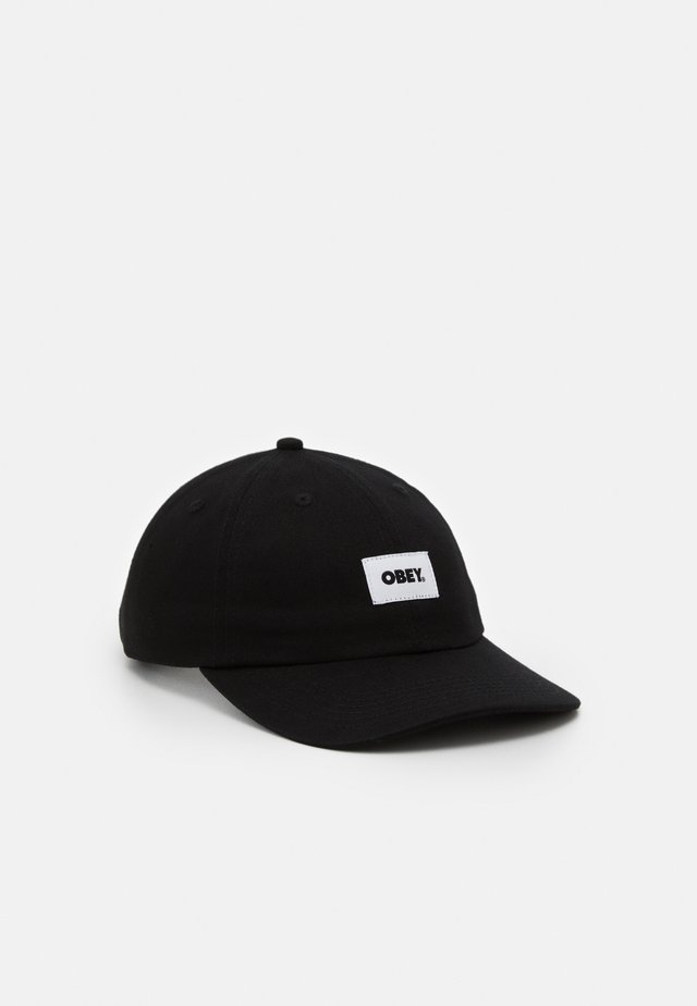 BOLD LABEL PANEL  - Cap - black