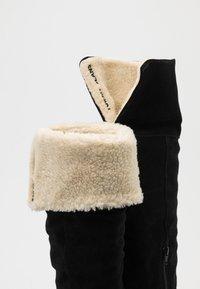 Tommy Jeans - WARM LINED LONG BOOT - Støvler - black - 5