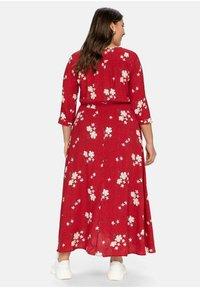 Sheego - Maxi dress - rot bedruckt - 2