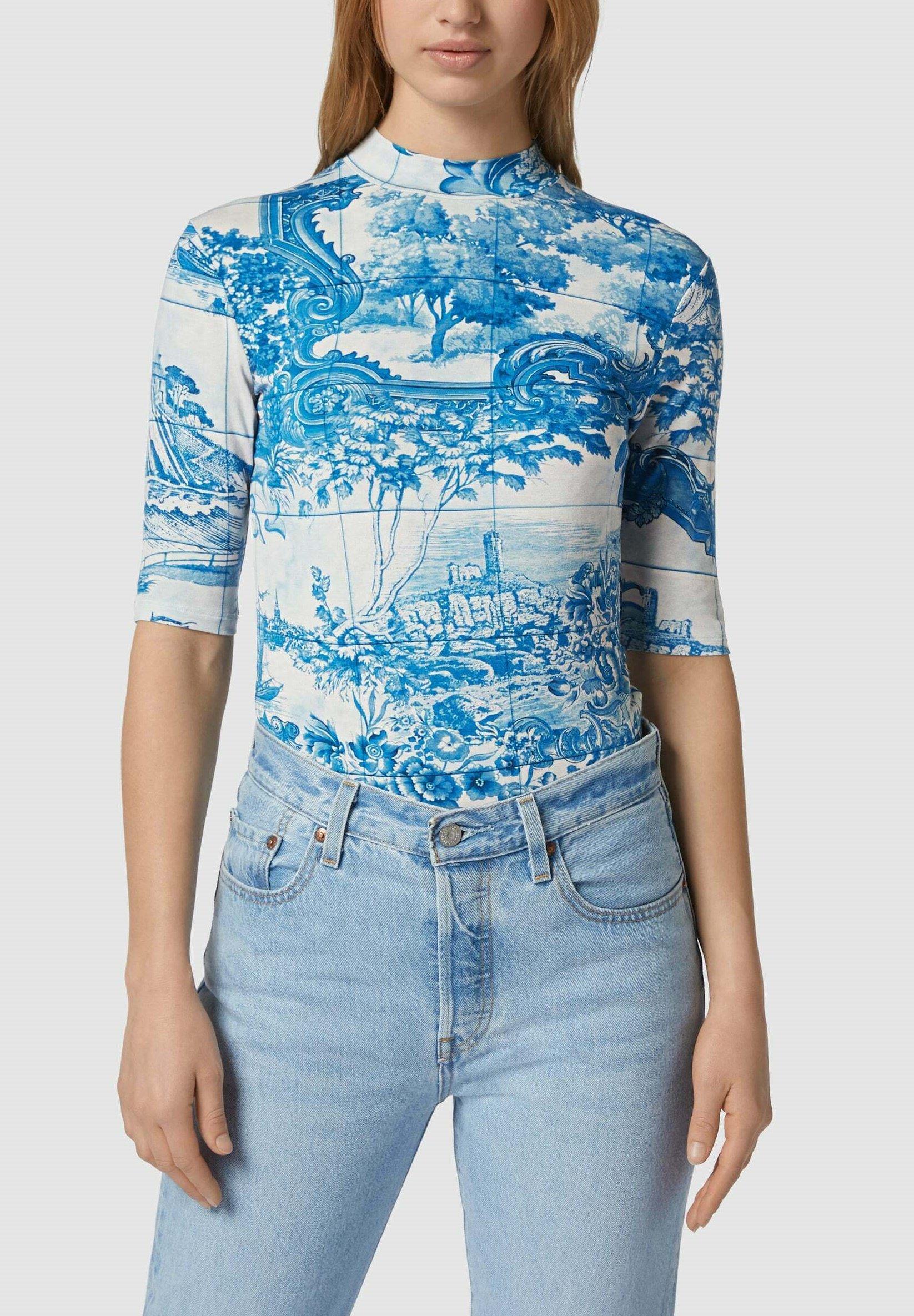 Damen MIT ALLOVER-MUSTER - T-Shirt print