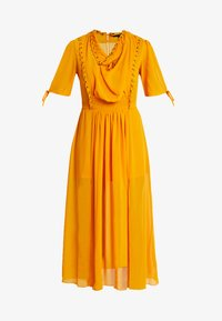 Topshop - EYETLET DETAIL COWL MIDI - Day dress - colour - 5