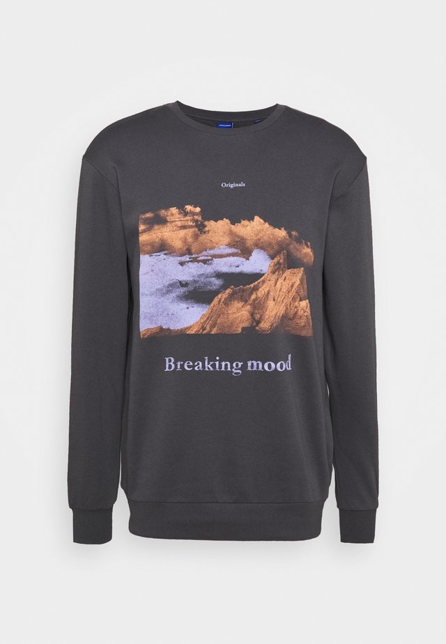 JOREXPLORE CREW NECK - Sweatshirts - asphalt