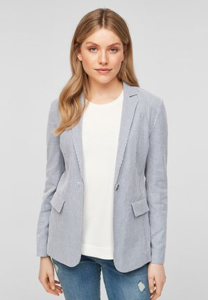 Blazer - faded blue stripes