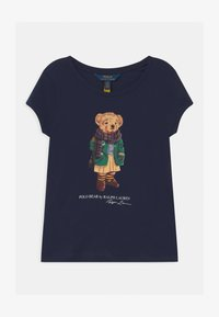 Polo Ralph Lauren - BEAR - Print T-shirt - french navy - 0