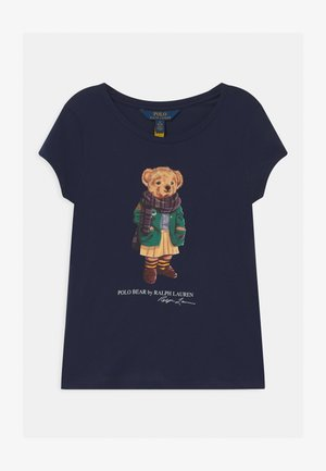 BEAR - T-shirt con stampa - french navy