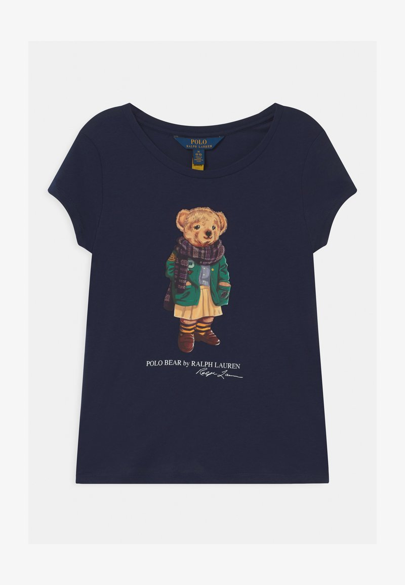 Polo Ralph Lauren - BEAR - T-shirt imprimé - french navy