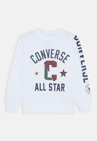 Converse - COLLEGIATE CREW - Collegepaita - white - 0