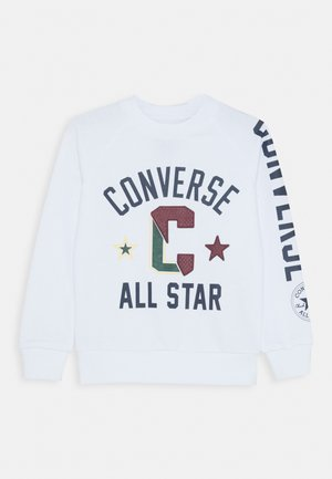 COLLEGIATE CREW - Sweatshirt - white