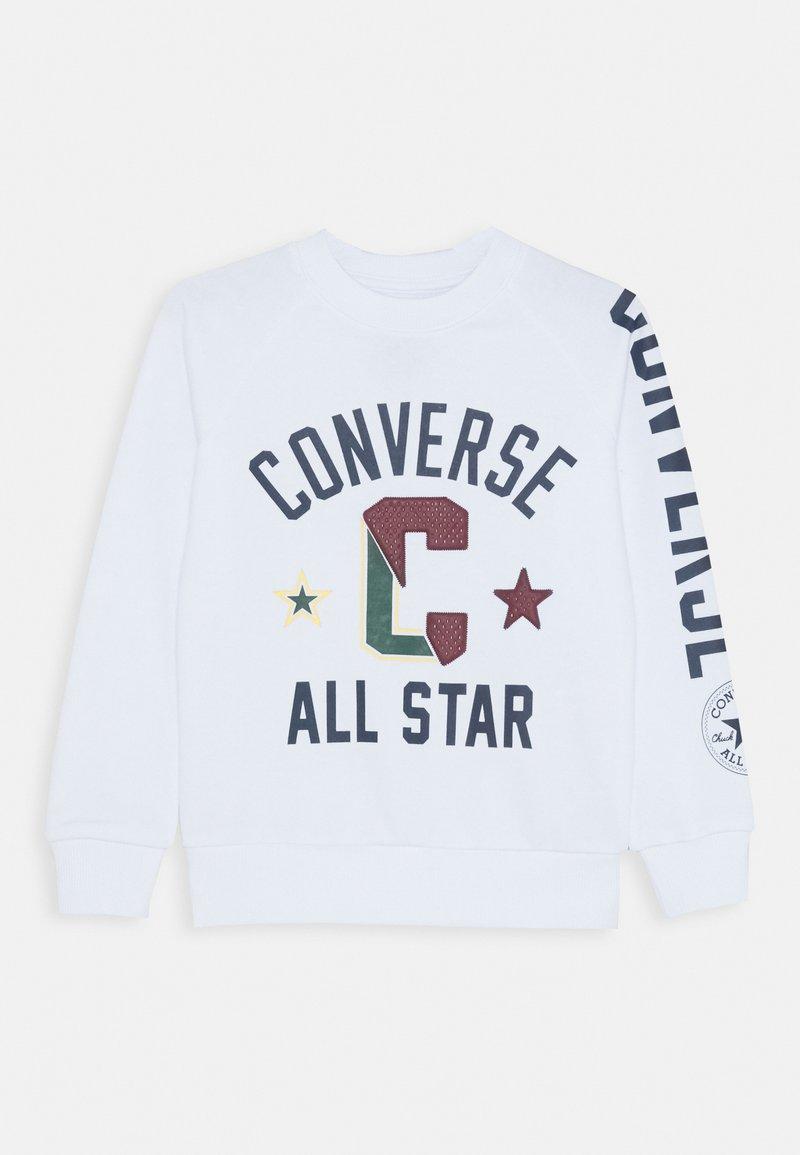 Converse - COLLEGIATE CREW - Collegepaita - white