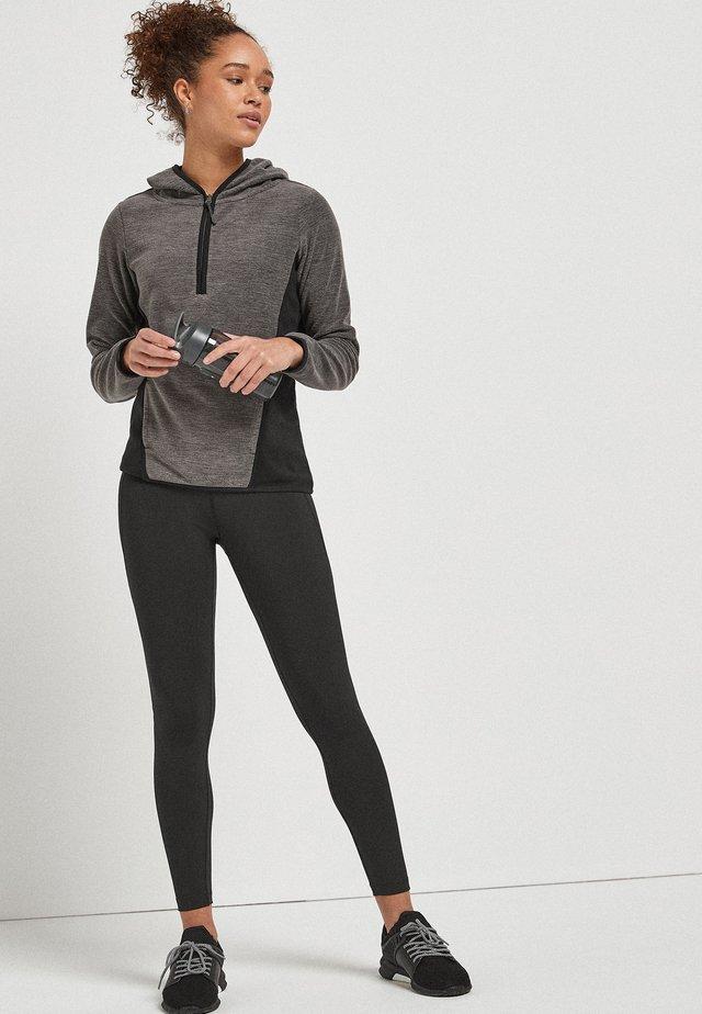 Fleecová mikina - grey