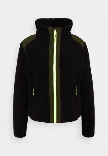 LEGACY - Fleece jacket - black