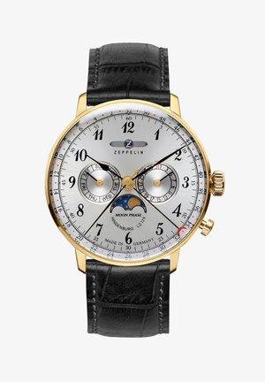 HINDENBURG MONDPHASE - Chronograph watch - weiãŸ