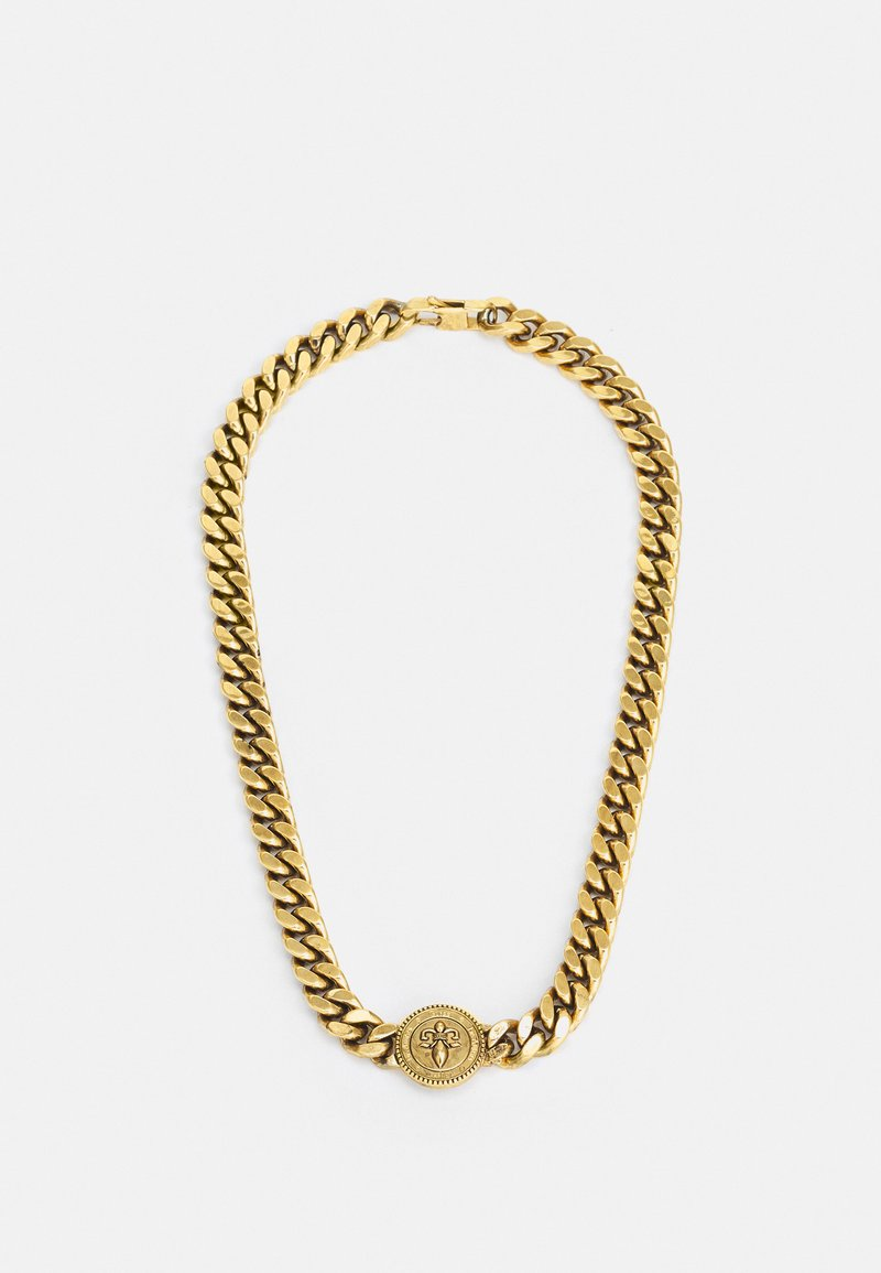Guess - CURB DOTTED UNISEX - Necklace - antique gold-coloured