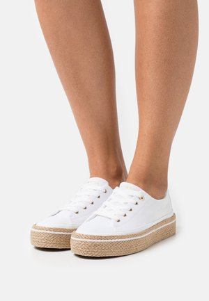 WHITE SUNSET - Casual lace-ups - white