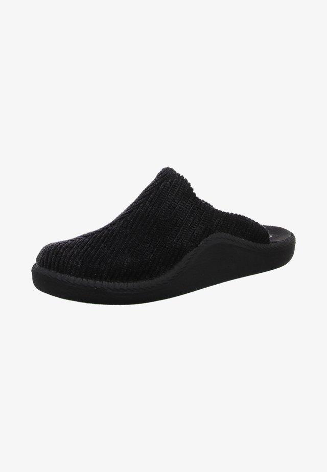 Slippers - schwarz