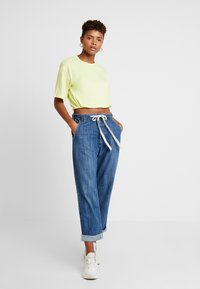 One Teaspoon - RODEO SAFARI HIGH WAIST RELAXED - Jeans Relaxed Fit - rodeo blue - 1