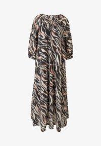s.Oliver - Maxi dress - black aop - 6