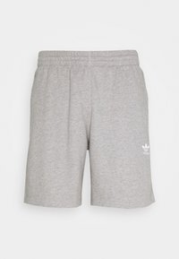 adidas Originals - ESSENTIAL UNISEX - Shorts - mottled dark grey - 0