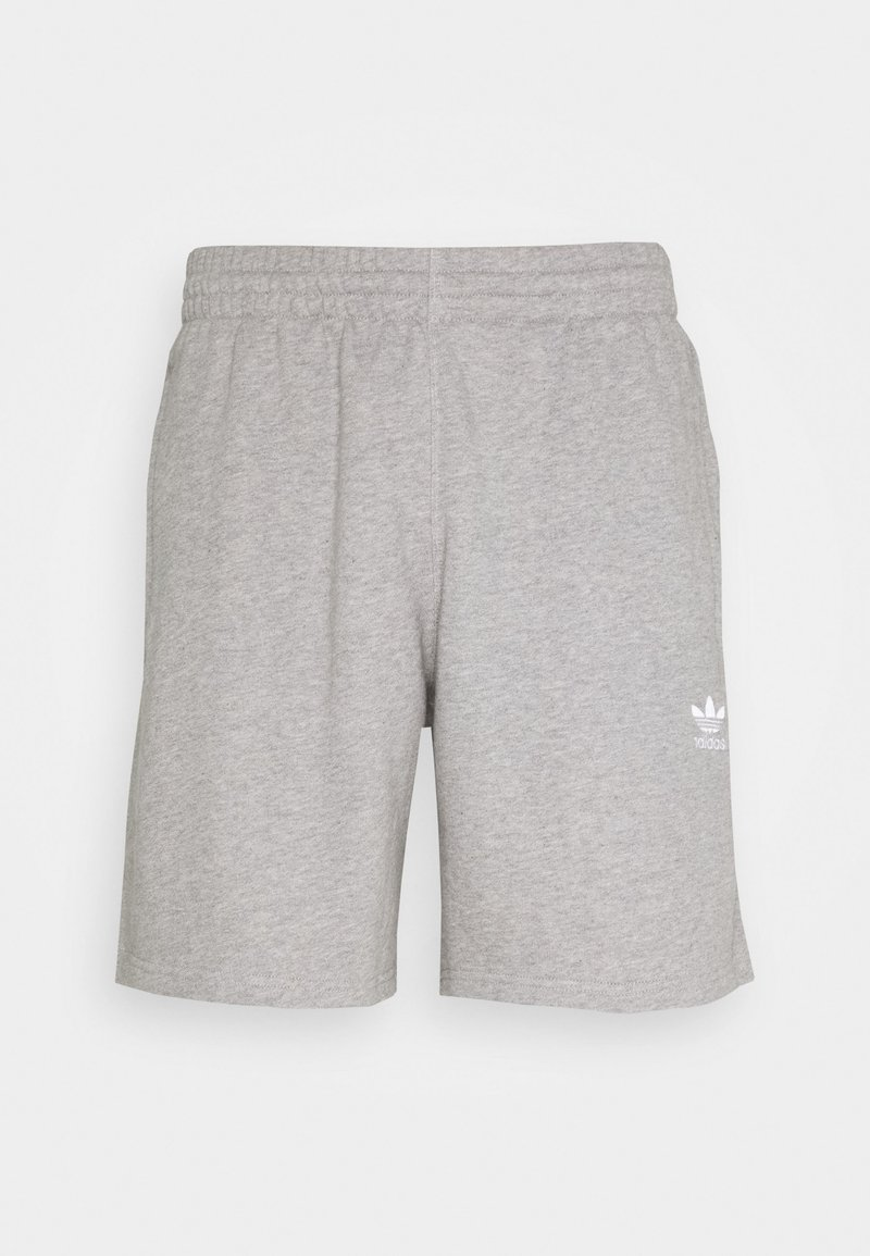 adidas Originals - ESSENTIAL UNISEX - Shorts - mottled dark grey