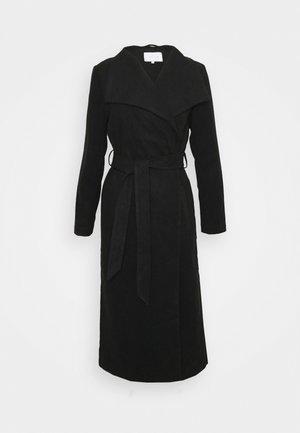 VIPOKU BELTED LONG COAT - Manteau classique - black