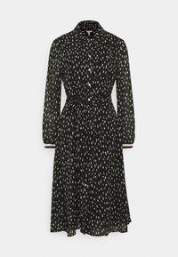 Esqualo - DRESS DOUBLE DOT - Day dress - black - 0