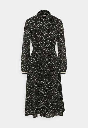 DRESS DOUBLE DOT - Day dress - black