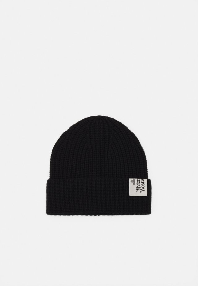 BEANIE HAT UNISEX - Mütze - black