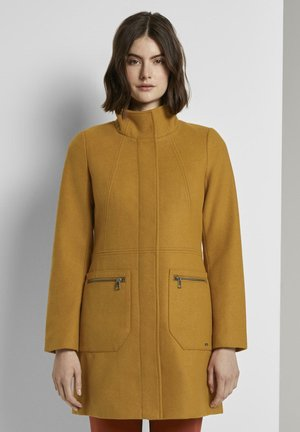 Short coat - warm curry yellow