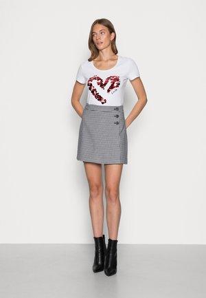 MODA - Print T-shirt - bianco ottico