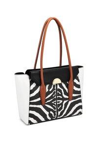 Nine West - HATTIE  - Handbag - zebra - 2