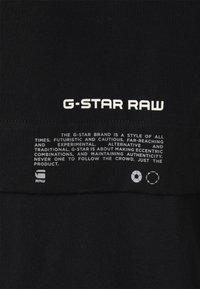 G-Star - MERCERIZED - T-shirt con stampa - black - 2