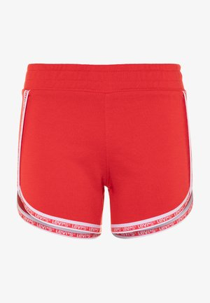 LOUNGE SHORTY - Tracksuit bottoms - tomato red