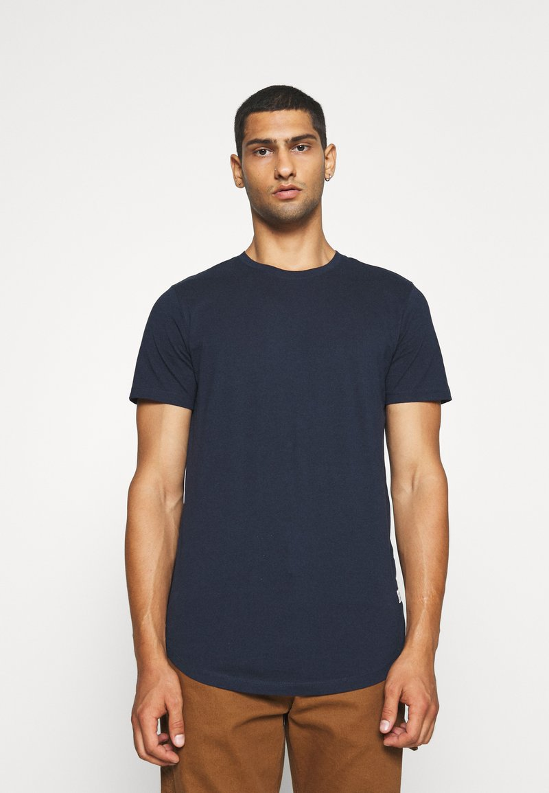 Jack & Jones - JJENOA - Basic T-shirt - navy blazer