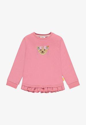 BUGS LIFE MIT NIEDLICHEN RÜSCHEN - Sweater - rapture rose