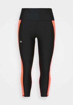 PANEL WOW ANKLE LEG - Leggings - black/pink